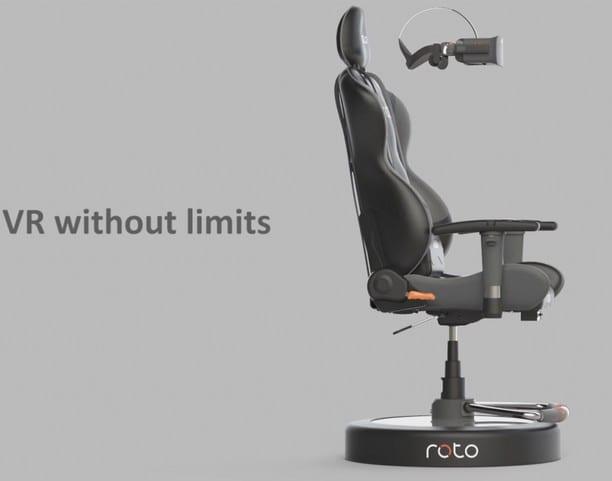 realité virtuelle fauteuil gamer